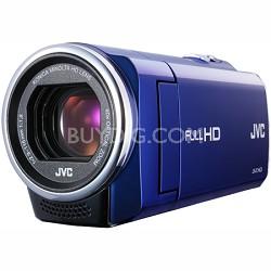 GZ-E10AUS - HD Everio Camcorder 40x Zoom f1.8  (Blue)