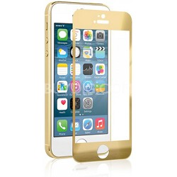 Tempered Glass Gold Screen Protector for Apple iPhone 5s/5/5c