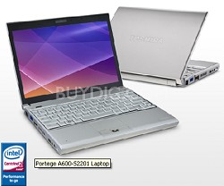 "Portege A600-S2201 12.1"" Notebook PC (PPA60U-007008)"