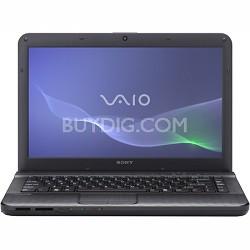"VAIO VPCEG25FX - 14.0"" Laptop Core i5-2430M (Black)"