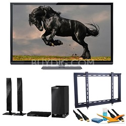 "55"" TC-P55GT50 SMART VIERA 3D FULL HD (1080p) Plasma TV Speaker Bundle"