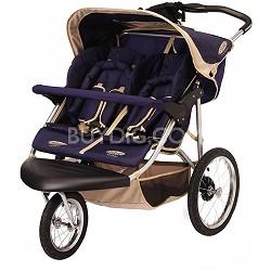 Safari Swivel Double Jogging Stroller - OPEN BOX