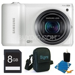 WB800F 16.3 MP Smart Camera with Built-in Wi-Fi 8GB White Kit