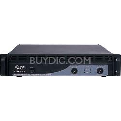 Pro PTA1000 1000 Watt DJ Amplifier