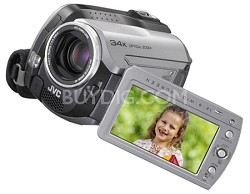 GZMG130 - Everio Hybrid Camcorder with 30GB HDD, 34x Optical Zoom