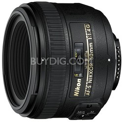AF-S NIKKOR 50mm f1.4G Lens, With Nikon 5-Year USA Warranty