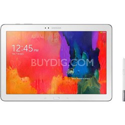 "Galaxy Note Pro 12.2"" White 32GB Tablet - 1.9 Ghz Quad Core Processor"