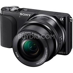 NEX-3NL Digital Camera 16.1 Megapixel with 16-50mm Lens (Black)  - OPEN BOX