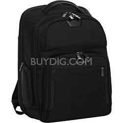 @ Work Large Clamshell Backpack - Black (KP375C)