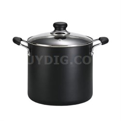 Specialty 12Qt Stock Pot Black