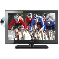 """24"""" LED 1080p HDTV 60Hz Built-in DVD (24V4210U)"""