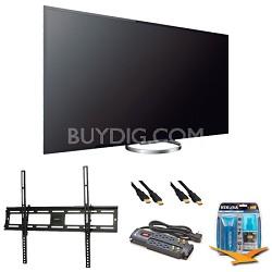 KDL65W850A 65-Inch Bravia LCD HDTV Wall Mount Bundle