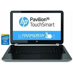 "Pavilion TouchSmart 15.6"" 15-n280us Notebook PC - Intel Core i5-4200U - OPEN BOX"