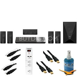 BDV-N5200W - 1000W 5.1ch HD Blu-Ray Disc Home Theater System Plus Hook-Up Bundle