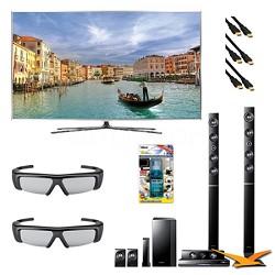 UN55D8000 55 inch 240hz 3D LED + HTD6730W Home Theater Bundle