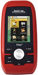 Triton 400 Handheld GPS w/ 2.2-inch LCD & SD Card Compatibility