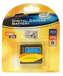 BPBCE10 - 1200mAh Lithium Battery for Panasonic DMC-FX30