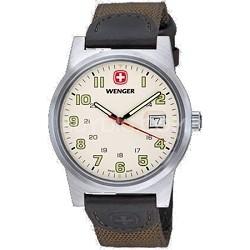 Swiss Field Mens Classic Wrist Watch, Ivory Dial