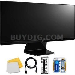 """29UM67 29"""" 21:9 2560 x 1080 Resolution WFHD UltraWide IPS LED Monitor with Kit"""