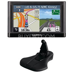 "nuvi 52LM 5.0"" GPS Navigation System with Lifetime Map Updates Mount Bundle"
