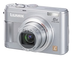 DMC-LZ2 Lumix 5MP Ultra-Compact Digital Camera w/ 6x Optical Zoom - OPEN BOX