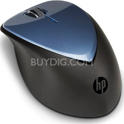 X4000 Wireless Mouse with Laser Sensor - Blue
