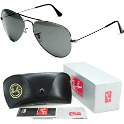 Aviator Classic Metal Sunglasses Gunmetal 58mm