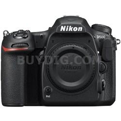 D500 20.9 MP CMOS DX Format Digital SLR Camera with 4K Video (Body)