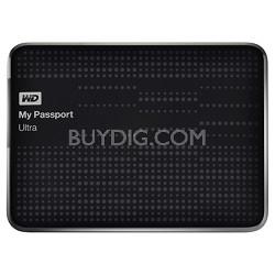 My Passport Ultra 1 TB USB 3 Portable Hard Drive -WDBZFP0010BBK (Black) OPEN BOX