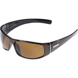 Atlas Sunglasses Coffee Frame/Brown Polarized Lens