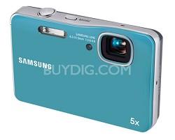 AQ100 Waterproof Digital Camera (Blue) - OPEN BOX