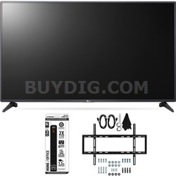 55LH5750 55-Inch LH5750 1080p Smart Full HD TV Slim Flat Wall Mount Bundle