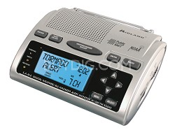Deluxe S.A.M.E. WeatherAlert All-hazard Radio with AM/FM