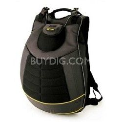"SecurePack - Notebook carrying backpack - 17.3"" - black, yellow"