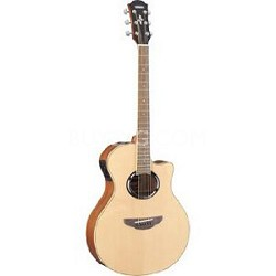 APX500II Thinline Cutaway Acoustic-Electric Guitar - Natural