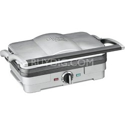 Compact Griddler with Removable Cooking Plates