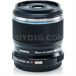 M.Zuiko Digital ED 30mm F3.5 Black Macro Lens
