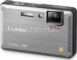 DMC-TS1S LUMIX 12.1 Megapixel TOUGH Digital Camera (Silver)