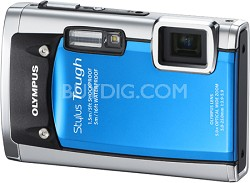 Stylus Tough 6020 Waterproof Shockproof Freezeproof 14MP Digital Camera (Blue)