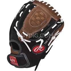 """Savage Series 10"""" Infield/Outfield Youth Baseball Glove Right-Hand Throw PP100DP"""