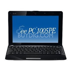 "Eee PC 1005PE-PU17-BK 10.1"" Atom N450/250G HDD/1GB DDR2/Windows 7 Starter"