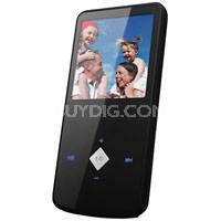 "1.5"" Color MP3 Video Player 2GB W/Built-in FM Radio/Recorder - Black"