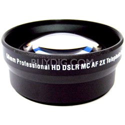 E-2X58B 58mm Threading Pro 2x Telephoto Lens Converter