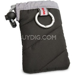 "Gear Black Jacket Case w/ Carabiner (Measures 4.5"" X 2.8"" X 0.8"")"