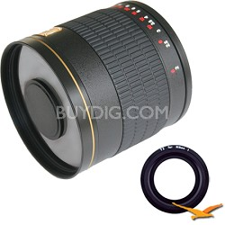 800mm F8.0 Mirror Lens for Nikon 1 (Black Body) - 800M-B