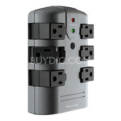 Pivot Plug Series 6-Outlets Surge Suppressor