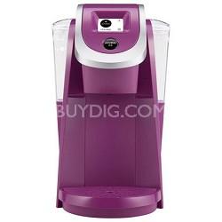 2.0 K250 Coffee Maker Brewing System - Violet