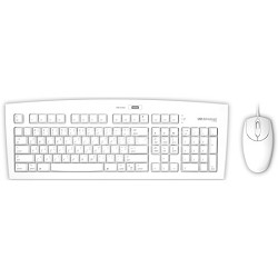 FK104M USB 2.0 Keyboard & Mouse - White - Mac