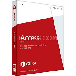 Access 2013 Product Key Card (no media) - 1 PC