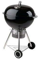 22 1/2-Inch One-Touch Gold Charcoal Grill, Black